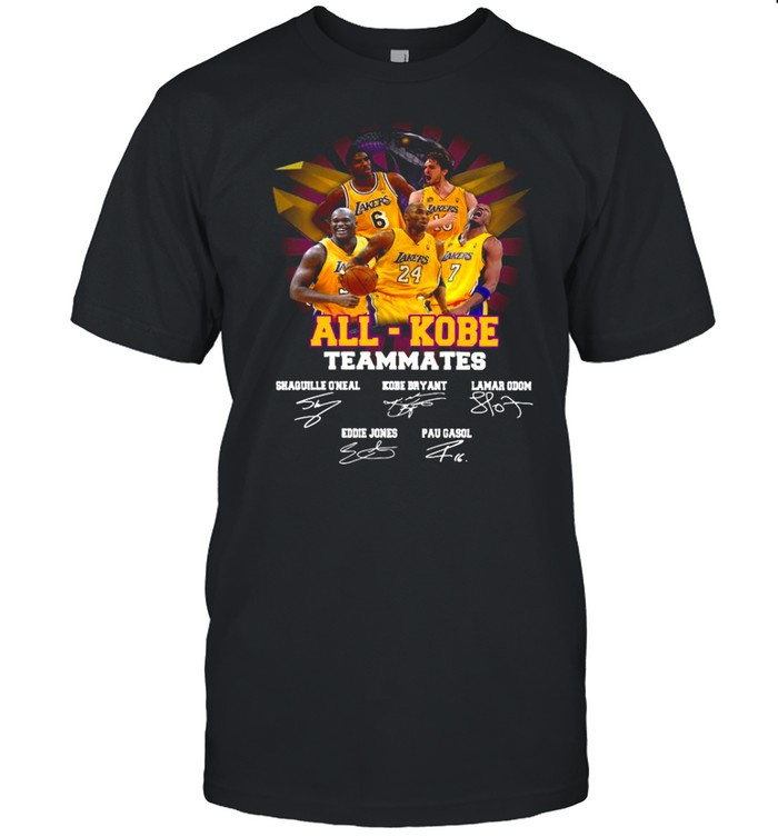 All Kobe Teammates 2021 Signatures shirt Classic Men's T-shirt