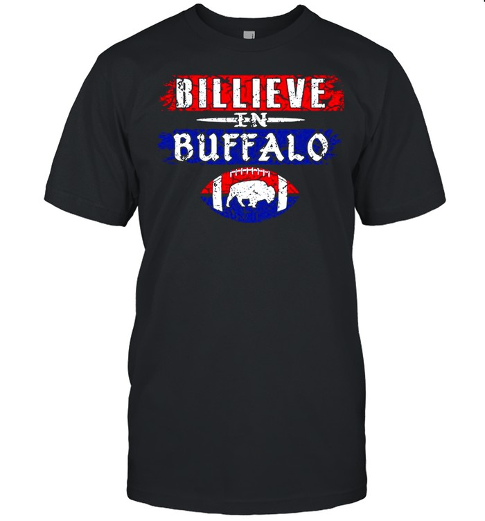 Believe In Buffalo Bills Rugby 2021 shirt Classic Men's T-shirt