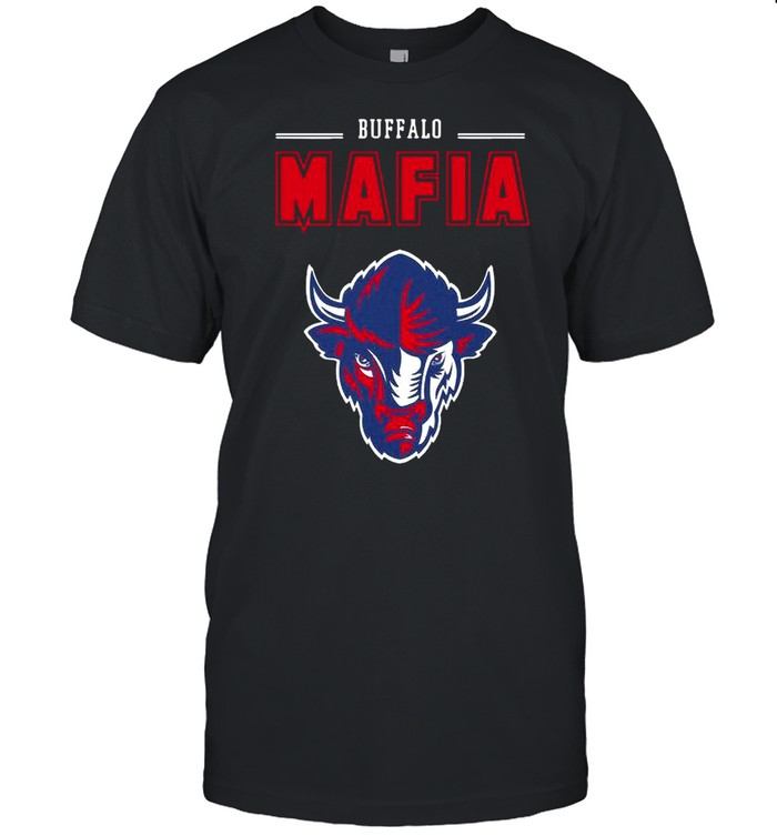 Bison Head Mascot Buffalo Bills Mafia 2021 shirt Classic Men's T-shirt