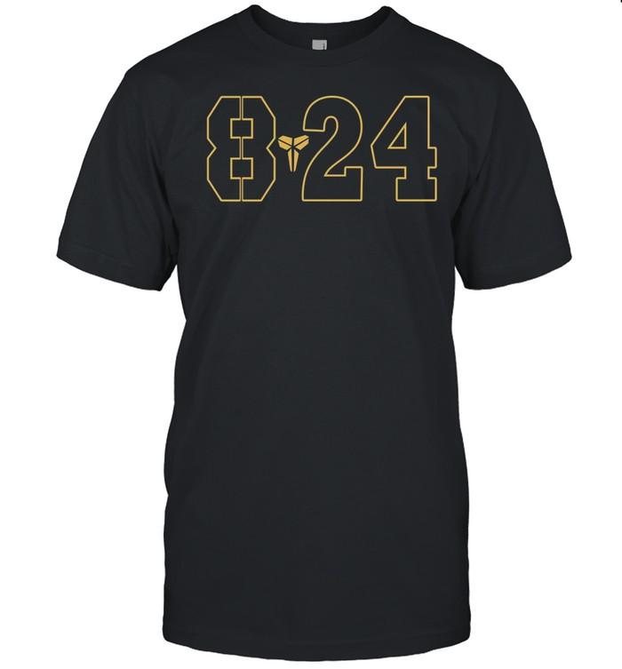 Black Mamba 8 24 With Kobe Bryant 2021 shirt Classic Men's T-shirt