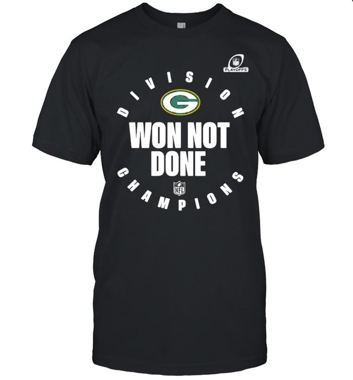 Divison Champion Won Not Done Green Bay Packers shirt Classic Men's T-shirt