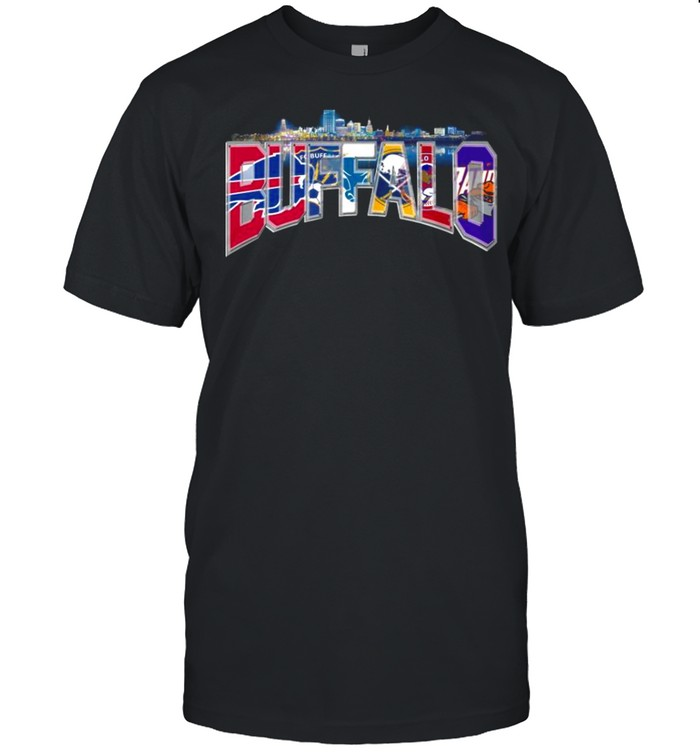 Fc Buffalo Bills In The City 2021 shirt Classic Men's T-shirt