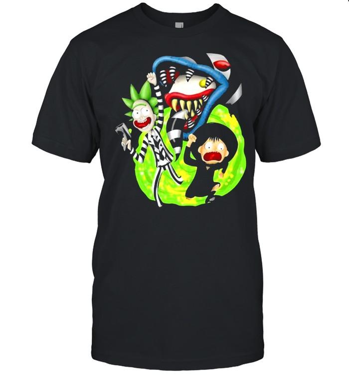 Rick Sanchez Morty Beetlejuice Cartoon shirt Classic Men's T-shirt