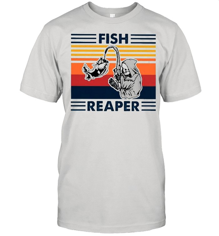 Fish reaper vintage shirt Classic Men's T-shirt