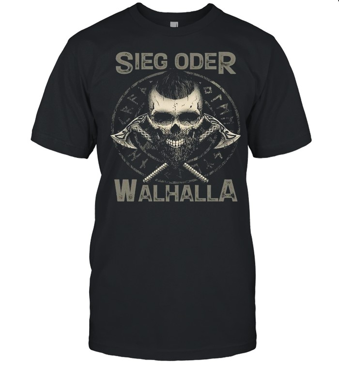 Viking Sieg Oder Walhalla shirt Classic Men's T-shirt