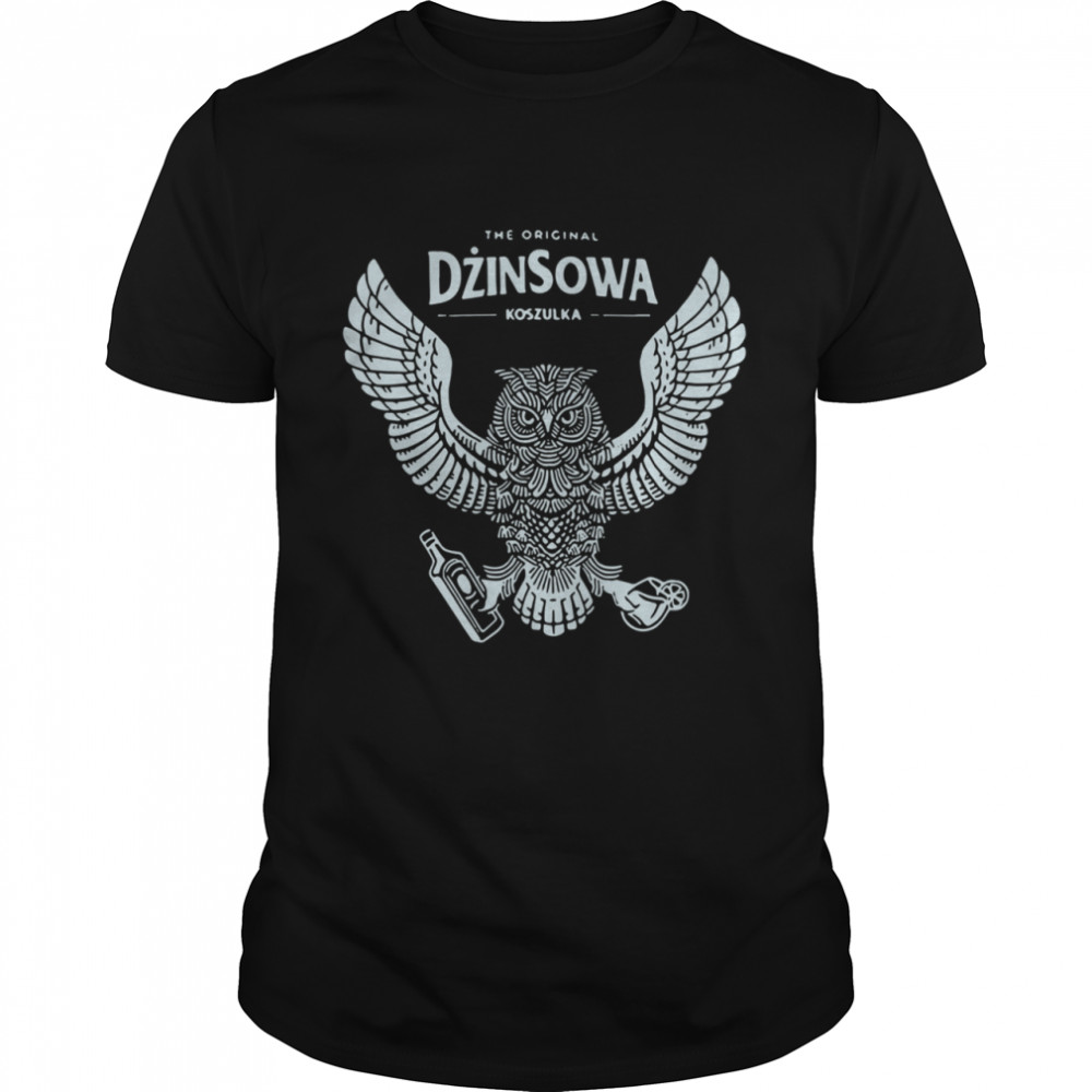 The original dzinsowa koszulka shirt Classic Men's
