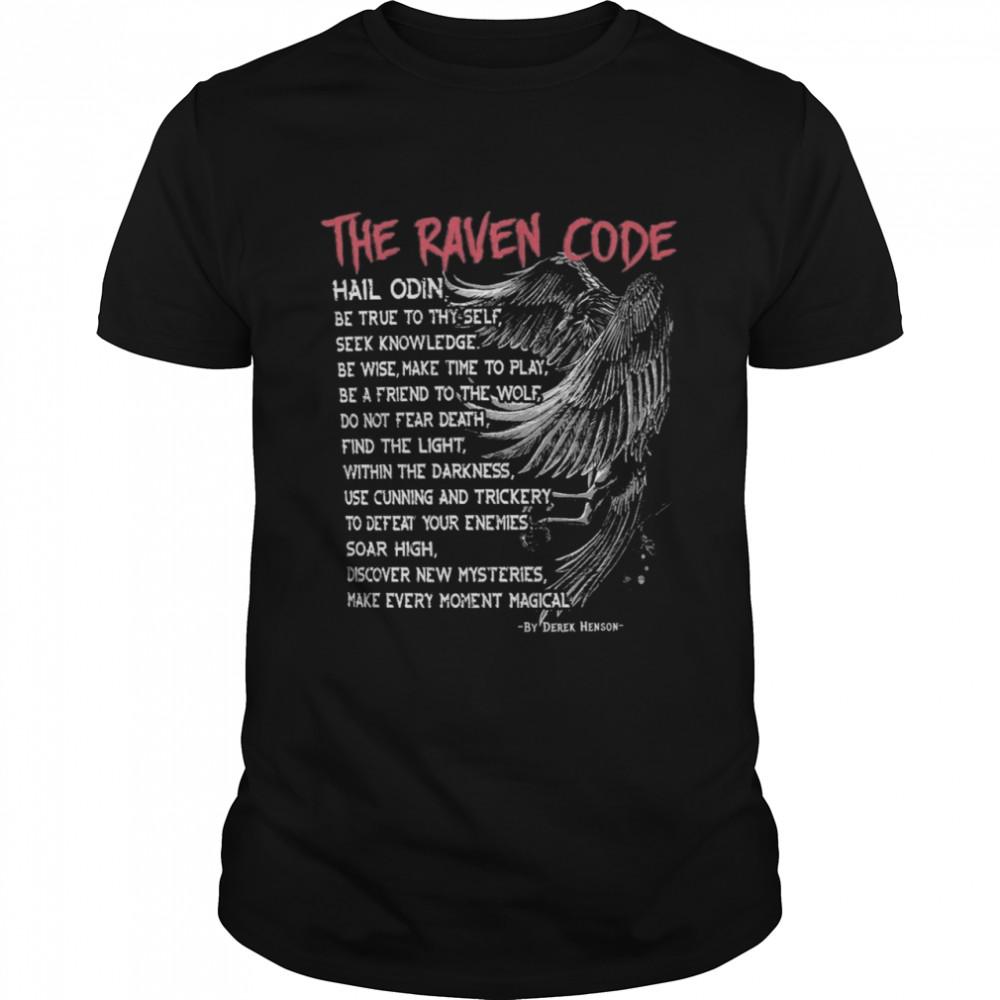 Viking The raven code shirt Classic Men's T-shirt