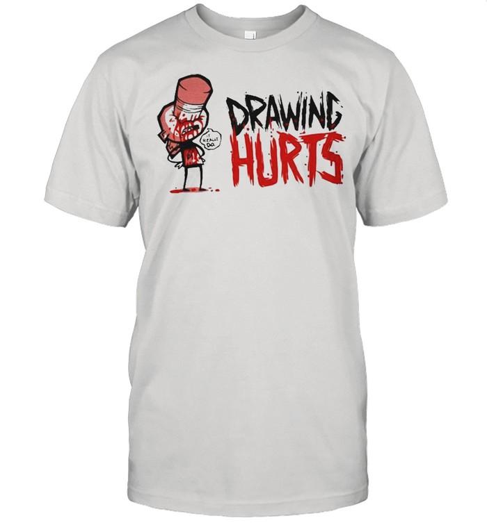 Zogi Corp Drawing Hurts shirt Classic Men's T-shirt