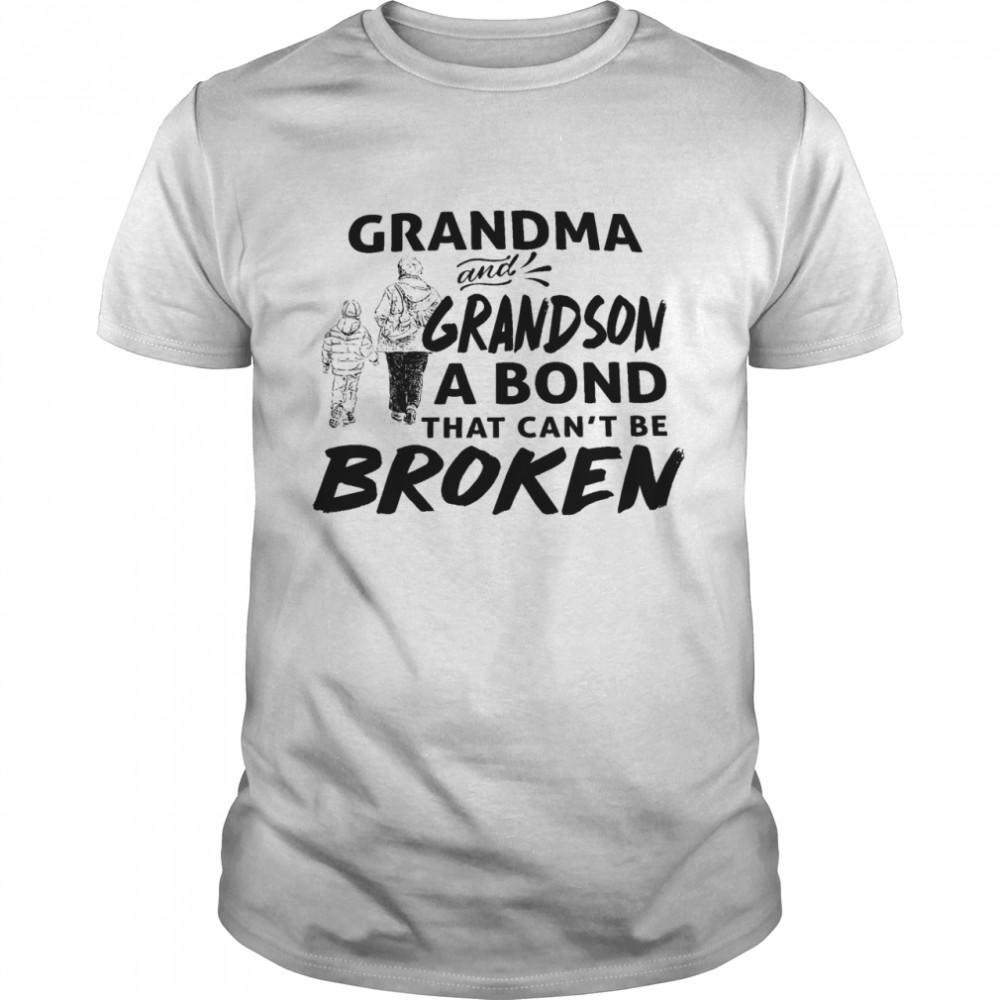Grandma and grandson that cant be broken shirt Classic Men's T-shirt
