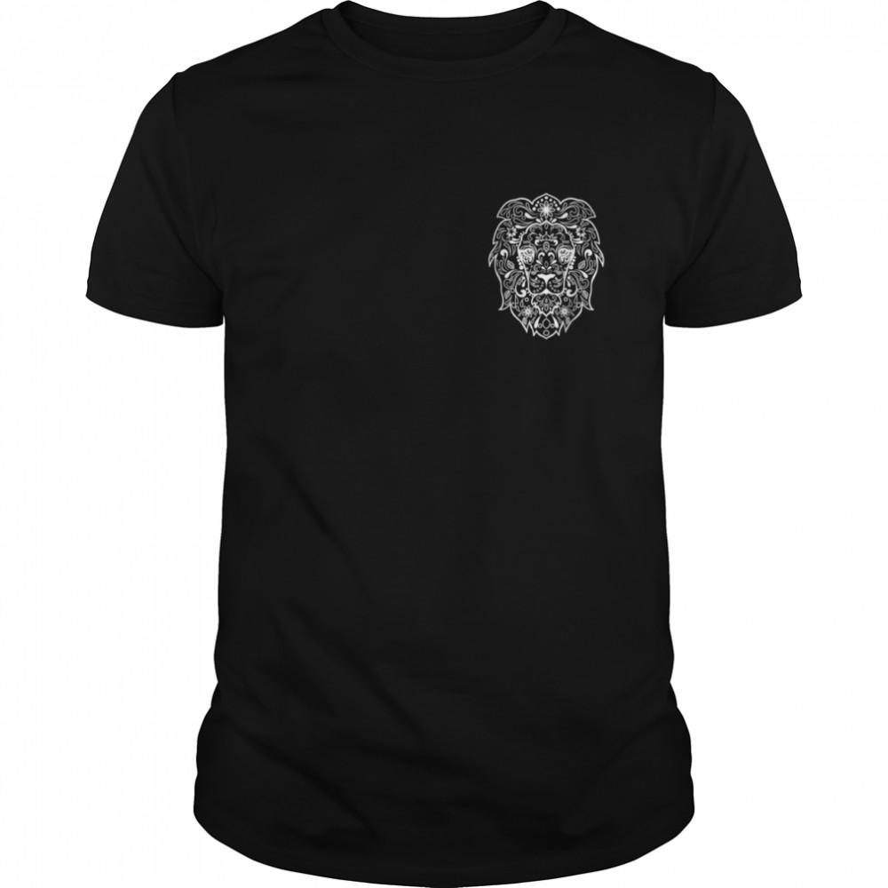Lion Fancy artistic shirt Classic Men's T-shirt