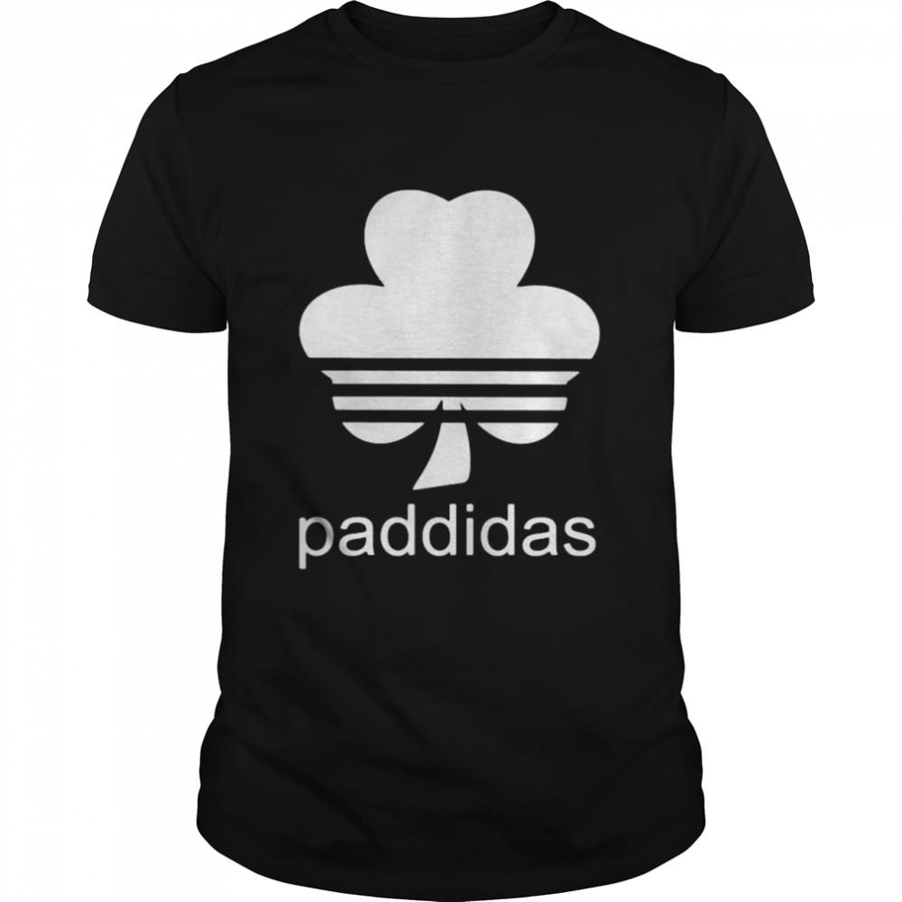 Adidas Logo St Patrick Day Paddidas  Classic Men's T-shirt
