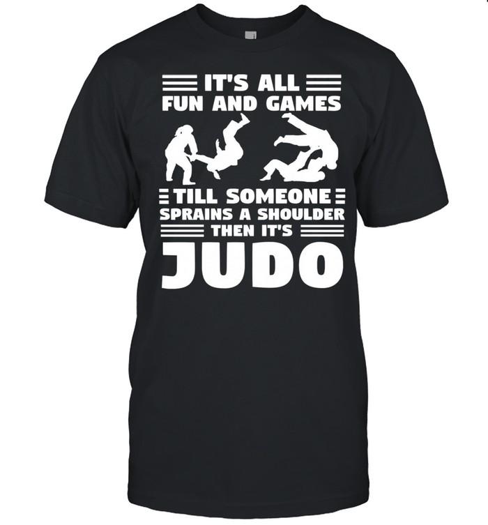 Its all fun and games till someone sprains a shou shirt Classic Men's T-shirt