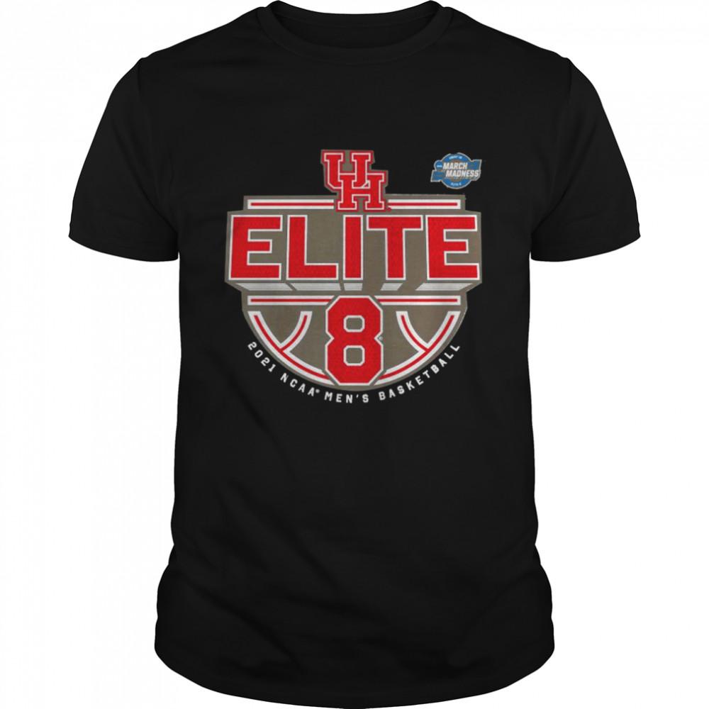 Houston Cougars 2021 NCAA men's basketball tournament march madness elite 8 shirt Classic Men's T-shirt