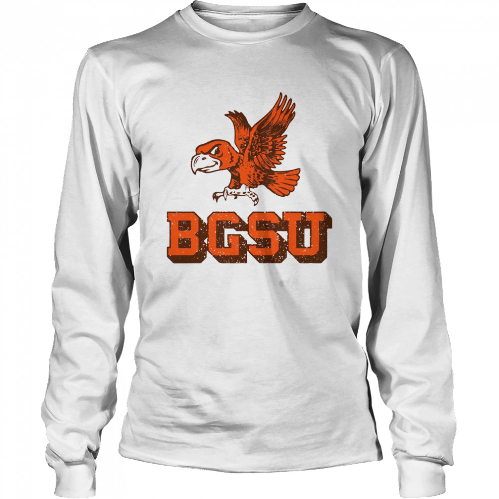 Bowling Green State University Flying Falcon shirt Long Sleeved T-shirt