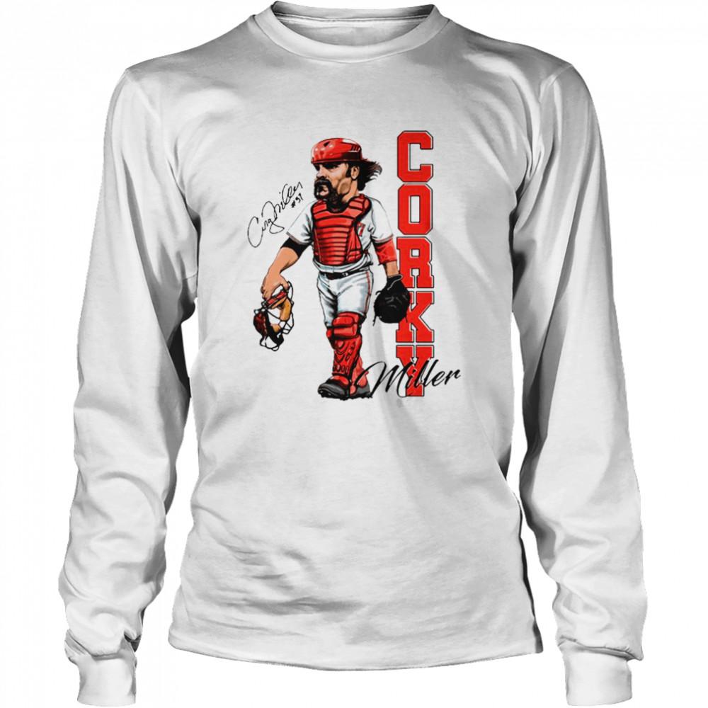 Corky Miller Tee shirt Long Sleeved T-shirt