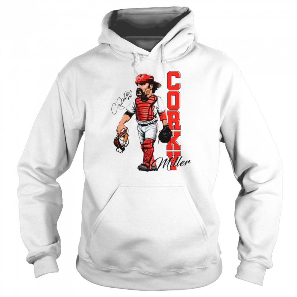 Corky Miller Tee shirt Unisex Hoodie