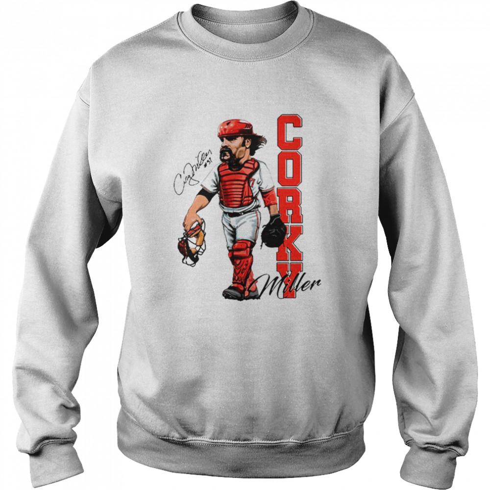Corky Miller Tee shirt Unisex Sweatshirt
