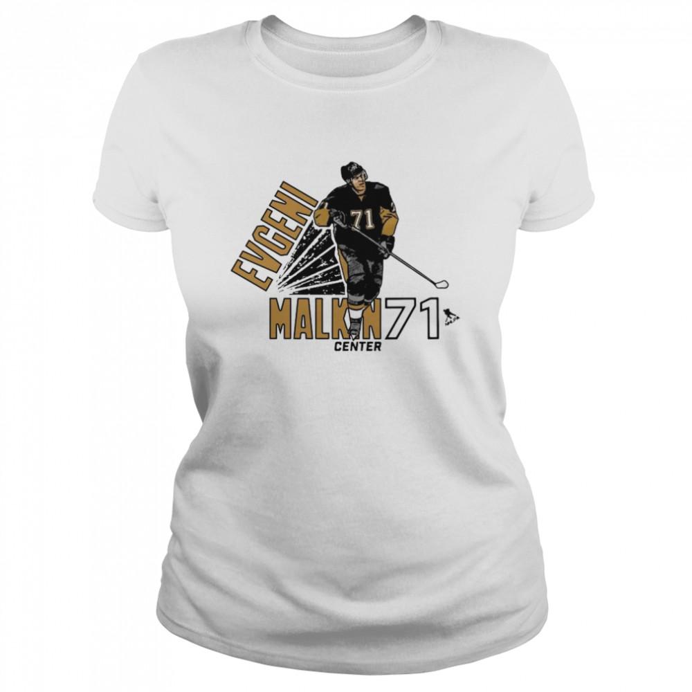 Evgeni Malkin 71 Center Pittsburgh shirt Classic Women's T-shirt