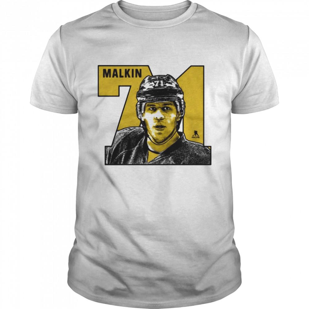 Evgeni Malkin 71 Number shirt Classic Men's T-shirt
