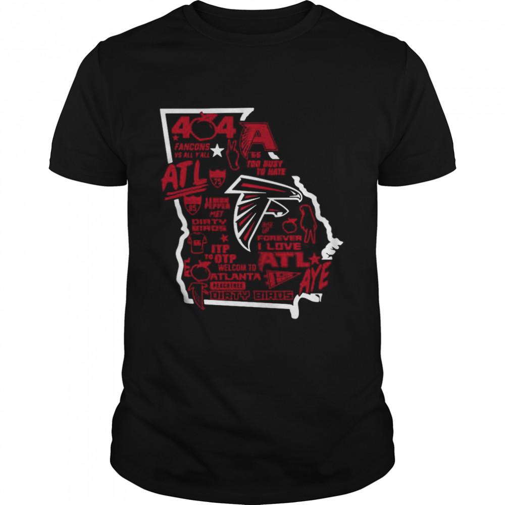 Falcons 404 Day shirt Classic Men's T-shirt