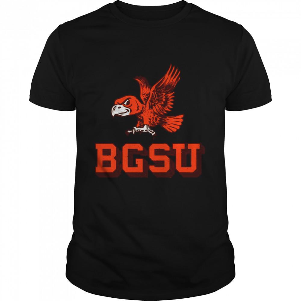 Flying Falcon Logo Bowling Green State University shirt Classic Men's T-shirt