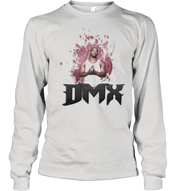 Black Travis Scott Dmx Rap Hip Hop  Long Sleeved T-shirt