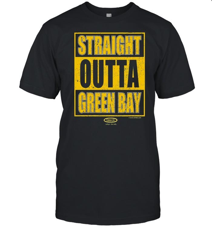 Straight outta green bay shirt Classic Men's T-shirt