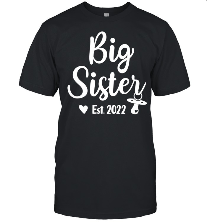 Promoted To Big Sister 2022 Cute Big Sister 2022 shirt Classic Men's T-shirt