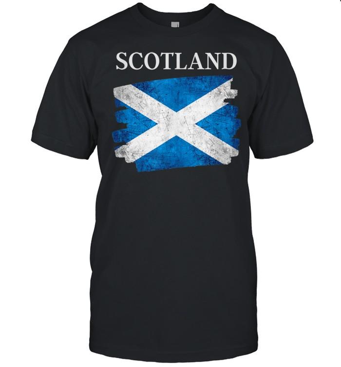 Scotland flag Scottish heritage pride shirt Classic Men's T-shirt
