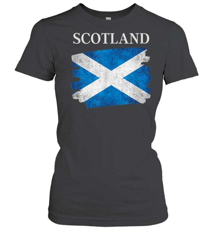 Scotland flag Scottish heritage pride shirt Classic Women's T-shirt