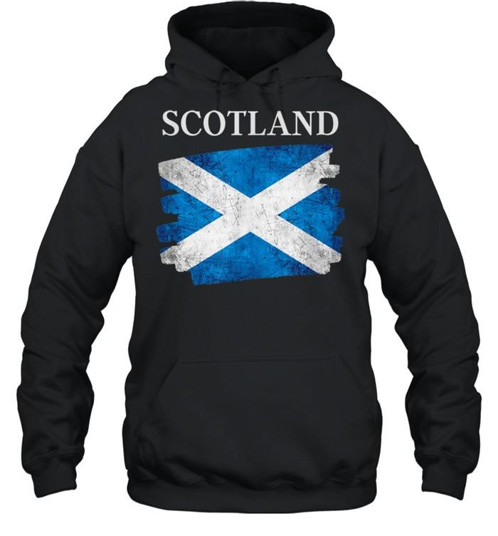 Scotland flag Scottish heritage pride shirt Unisex Hoodie