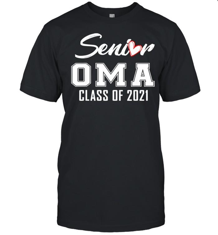 Senior Oma Class Of 2021 Grad Top Graduation For Oma shirt Classic Men's T-shirt
