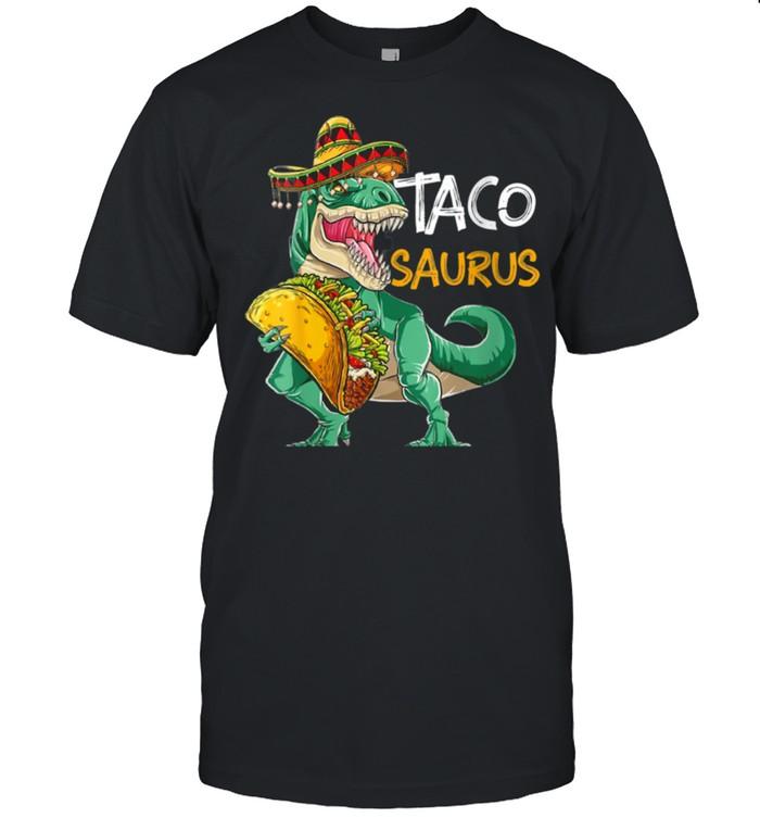 Tacosaurus Cinco de Mayo  Taco Dinosaur shirt Classic Men's T-shirt