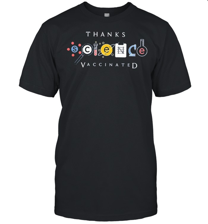 Thanks science vaccine shirt Classic Men's T-shirt
