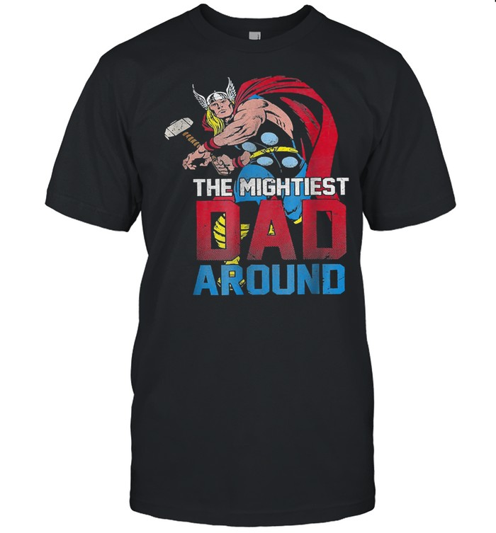 The mightiest dad around shirt Classic Men's T-shirt