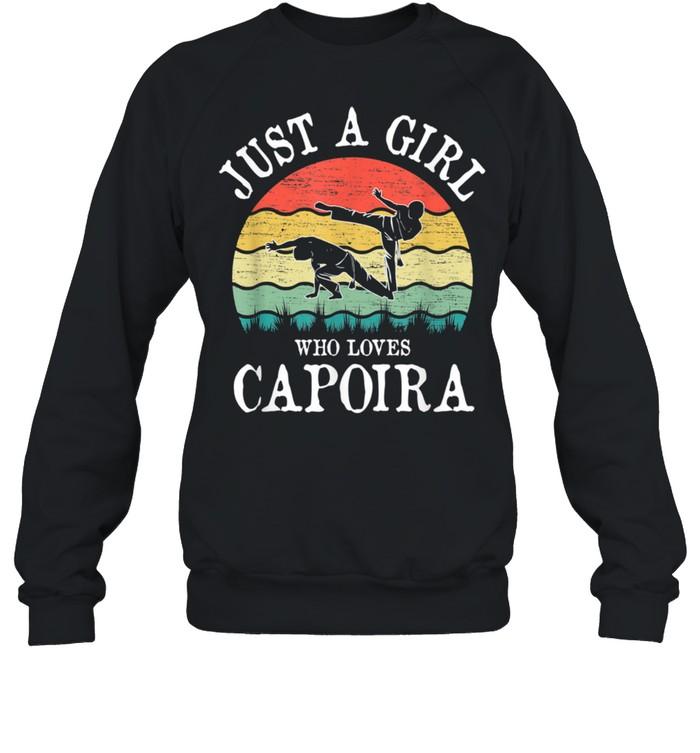 Just A Girl Who Loves Capoira shirt Unisex Sweatshirt