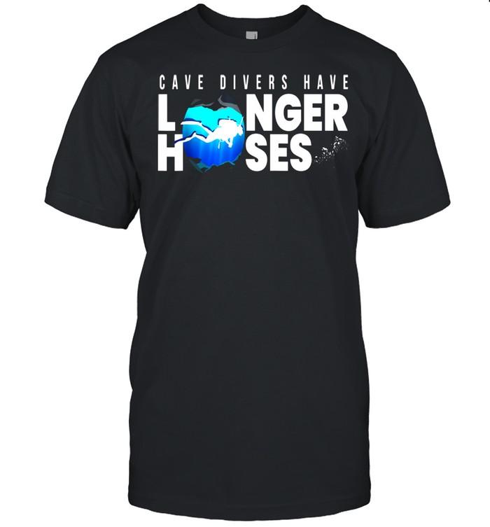 Cave Divers Longer Hoses I Tauchen Taucher Meer Schnorcheln shirt Classic Men's T-shirt