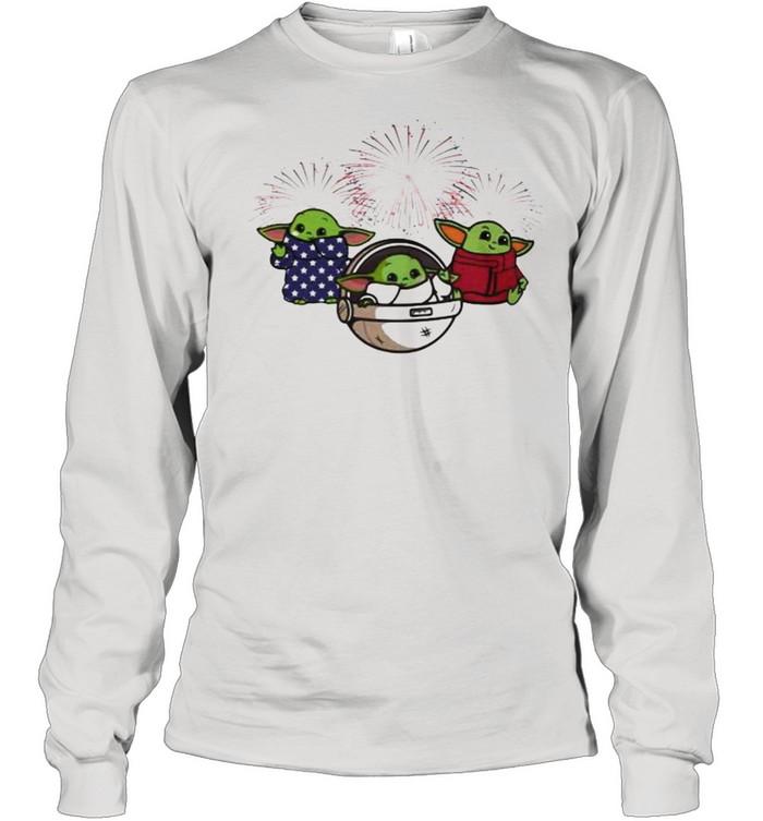 Baby Yoda Star Wars Long Sleeved T-shirt