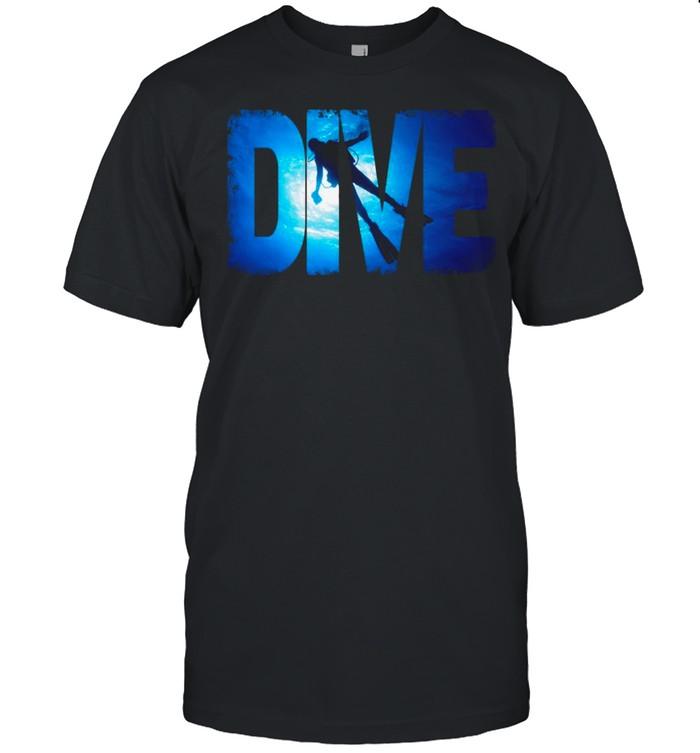 Scuba Diving Gear shirt Classic Men's T-shirt