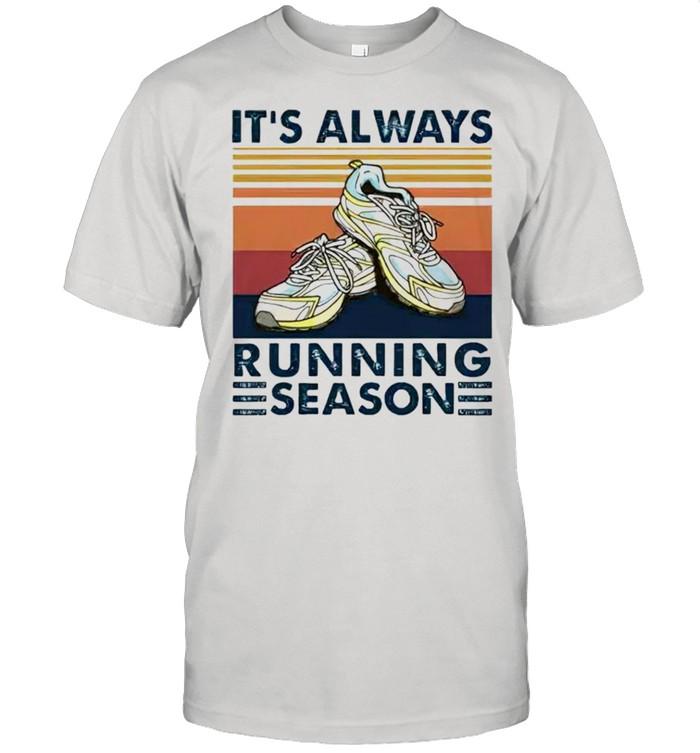 Its always running season shirt Classic Men's T-shirt