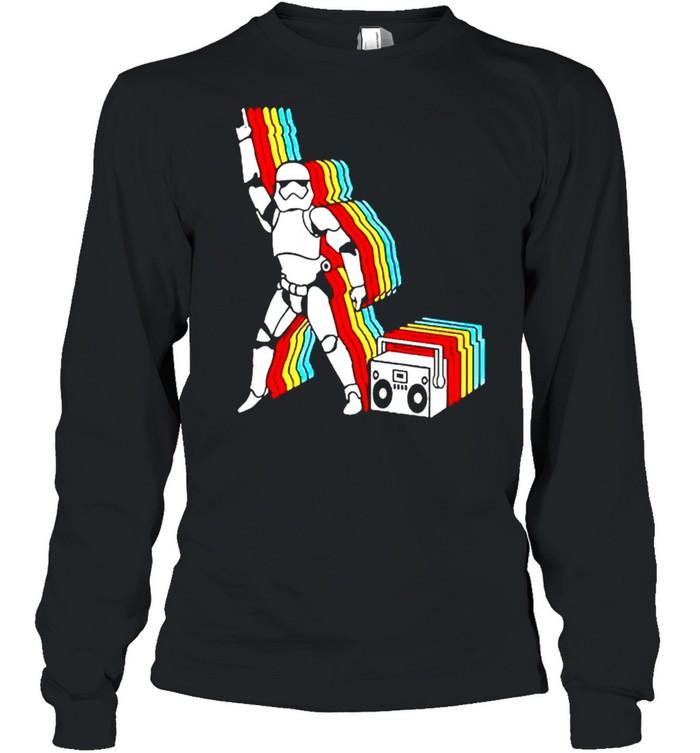 Star Wars Stormtrooper dancing shirt Long Sleeved T-shirt
