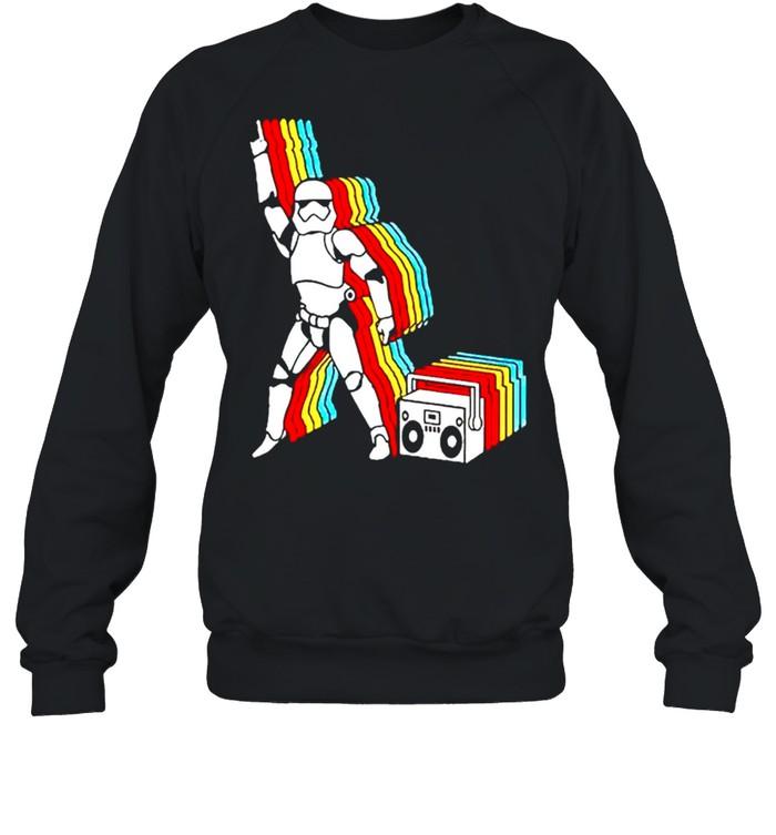 Star Wars Stormtrooper dancing shirt Unisex Sweatshirt