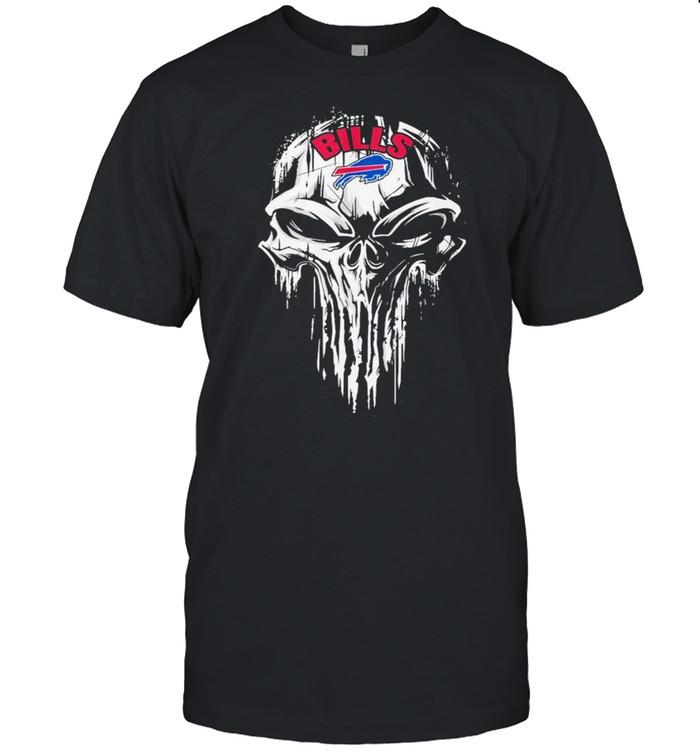 The Punisher Skull With Buffalo Bills 2021 shirt Classic Men's T-shirt