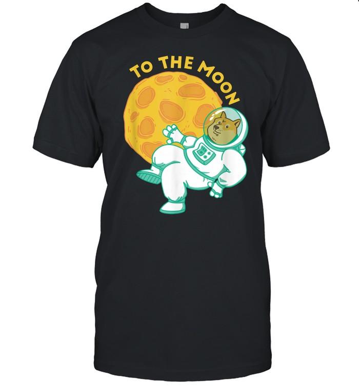 To The Moon Doge shirt Classic Men's T-shirt