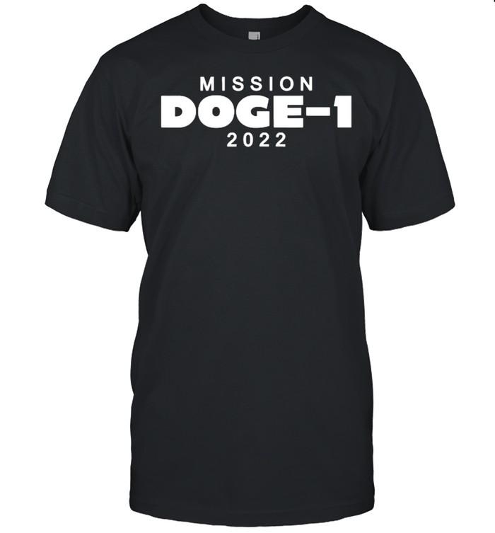 Mission Doge-1 2022 T- Classic Men's T-shirt