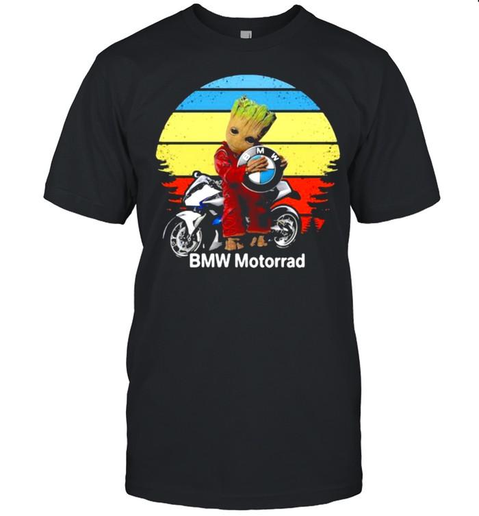 Groot hug logo BMW Motorrad vintage shirt Classic Men's T-shirt