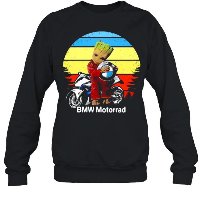 Groot hug logo BMW Motorrad vintage shirt Unisex Sweatshirt