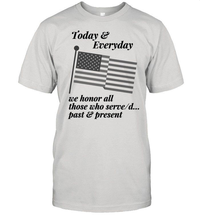Patriotic Honor those who Serve or Served. Country USA shirt Classic Men's T-shirt