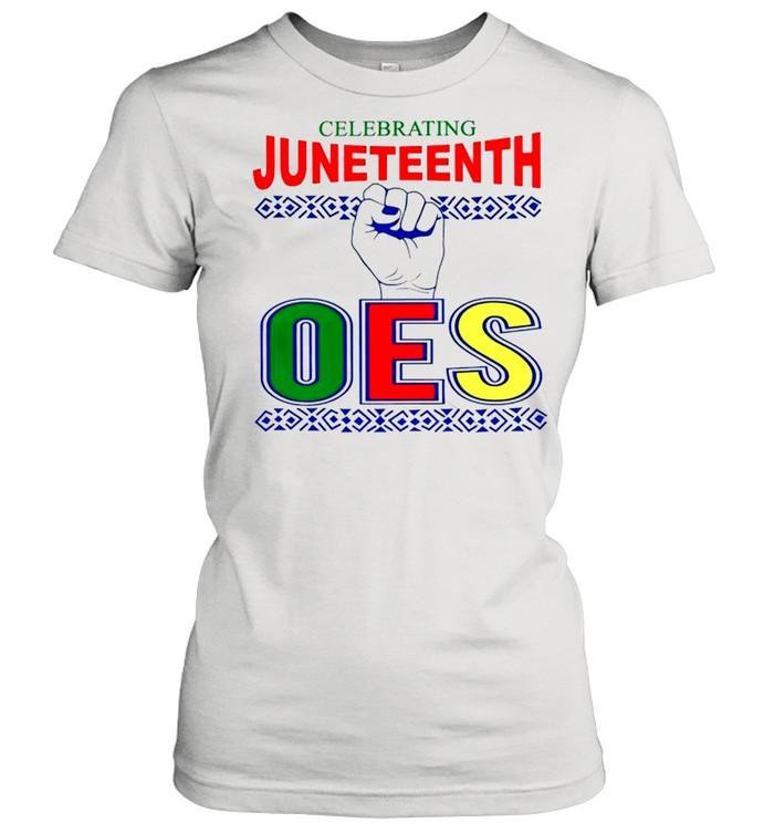 Celebrating Juneteenth one shirt Classic Women's T-shirt