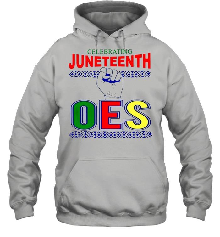 Celebrating Juneteenth one shirt Unisex Hoodie